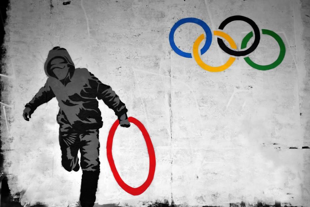 bansky cerchi olimpici